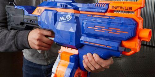 NERF N-Strike Blaster + 30 Darts Just $29.97 on Walmart.com (Regularly $70)
