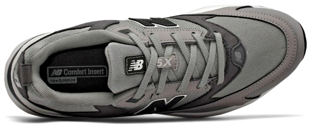 New Balance Men's 45X Running Shoes view from top of shoe