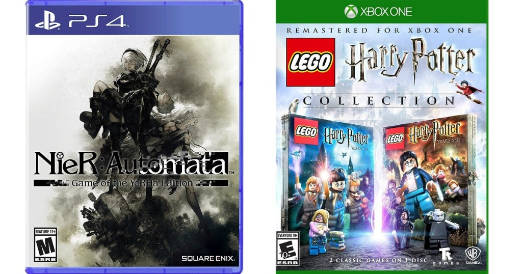 Nier Automata and Harry Potter LEGO Games