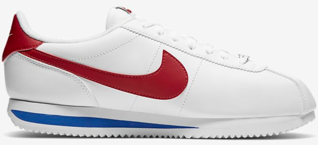 red white and blue nikes