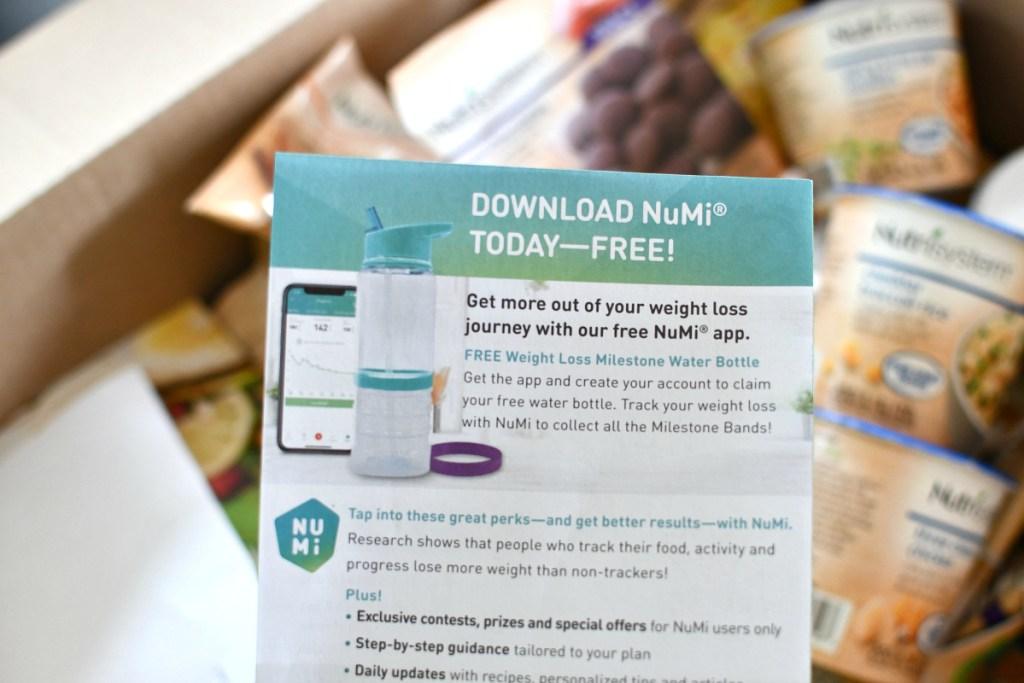 flyer about Numi app