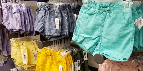 Old Navy Shorts for the Family from $4.97 (Regularly $11)