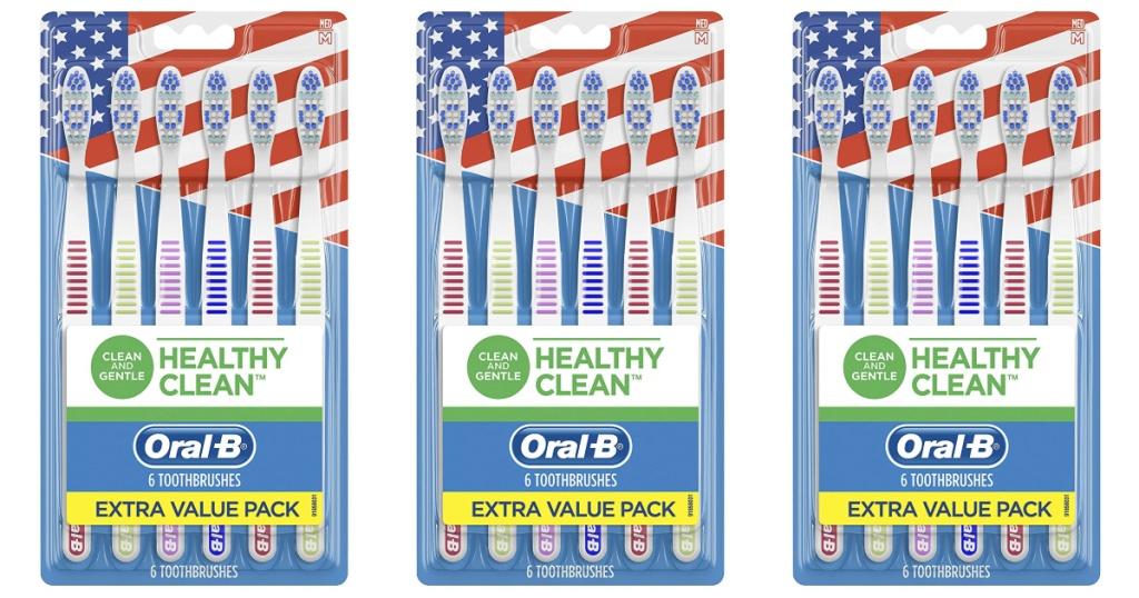 oral-b healthy clean toothbrush