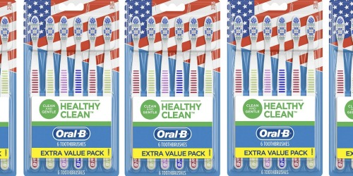 Oral-B Toothbrushes 6-Pack Only $2 Shipped on Amazon