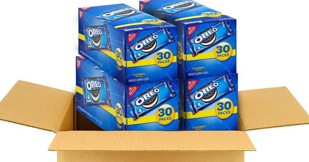 Oreo Snack Packs in box