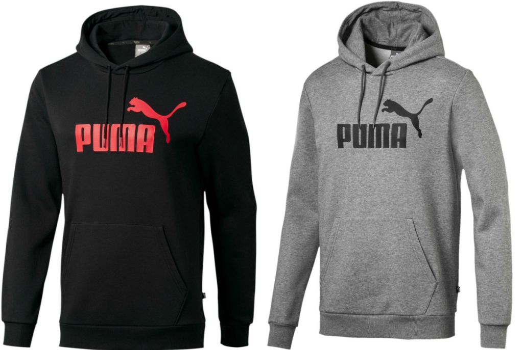 Men's athletic sweatshirt in two colors - gray and black