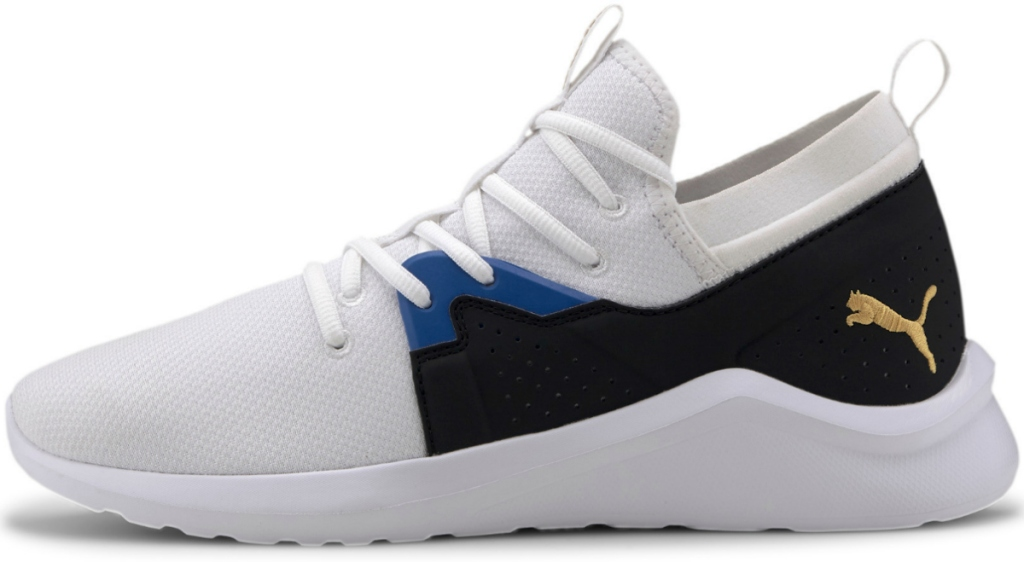 Men's athletic sneakers with PUMA logo
