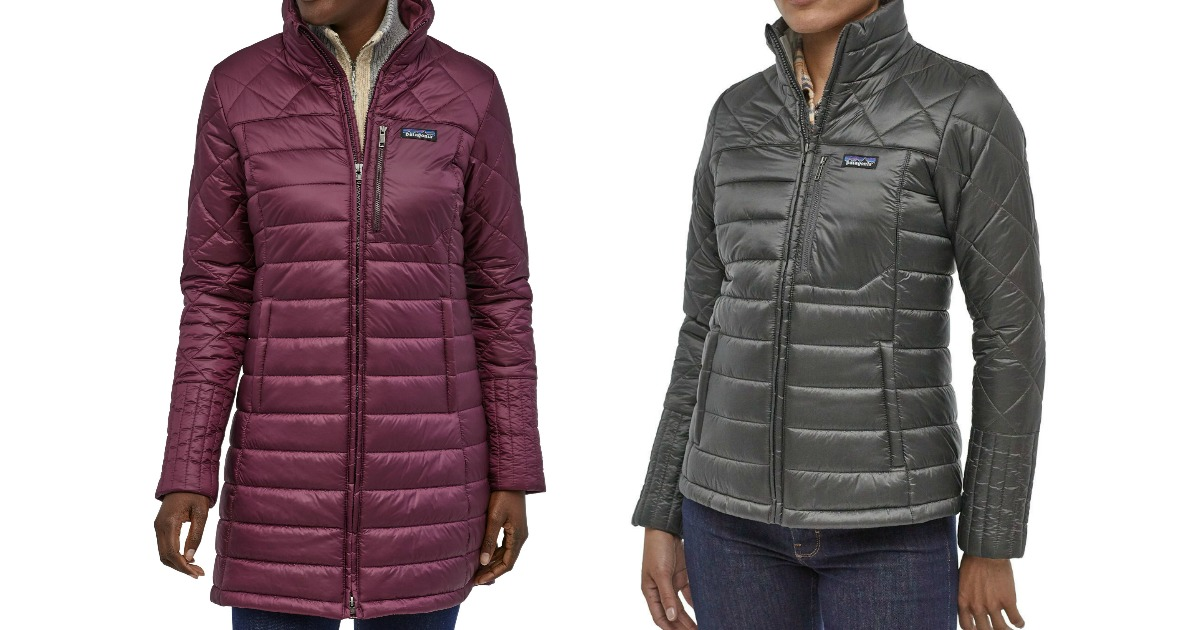 stock images of two women wearing coats