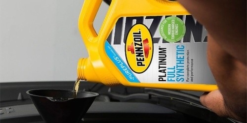 Pennzoil Motor Oil 5-Quart Jug Only $13 Shipped on Amazon (Regularly $28)