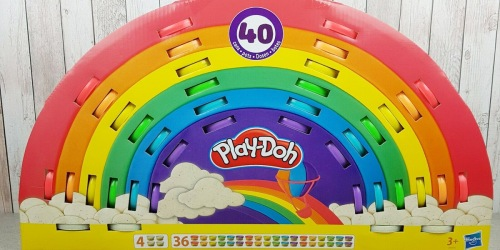 Play-Doh Ultimate Rainbow 40-Pack AND $10 Walmart Gift Card Only $14.94