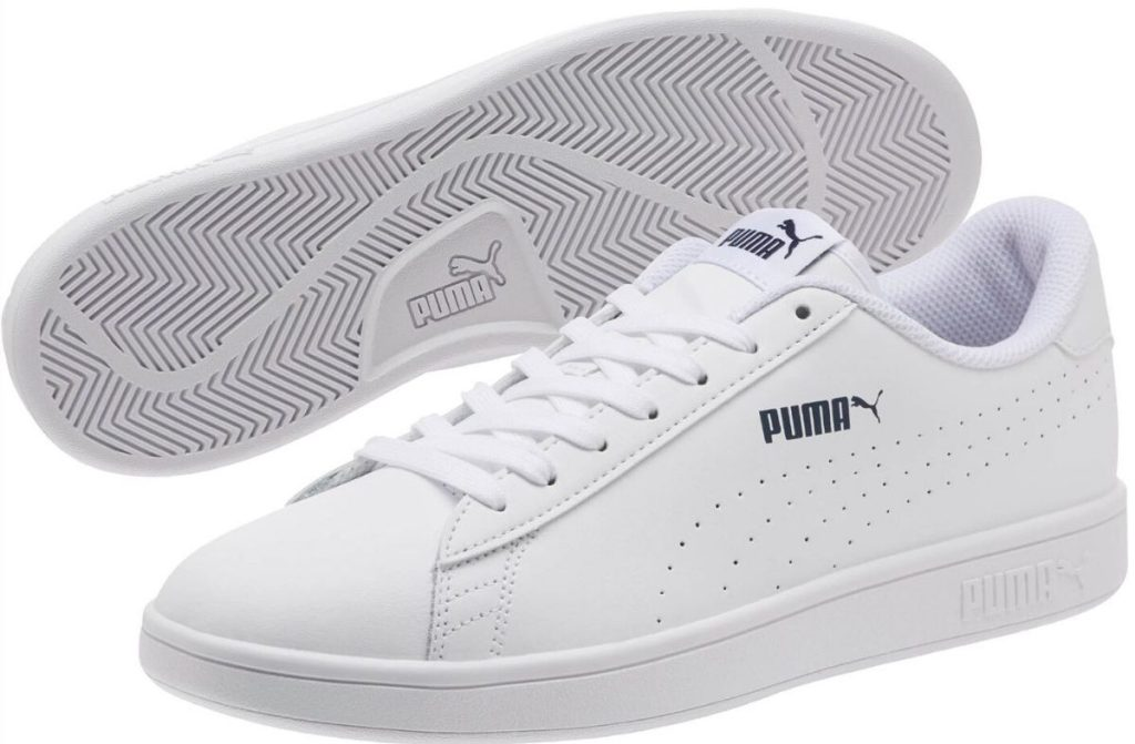 Puma mens leather sneakers