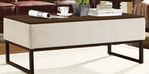 Coffee Table w/ Hidden Work Surfaces as Low as $122.49 Shipped + $20 Kohl's Cash (Regularly $510)