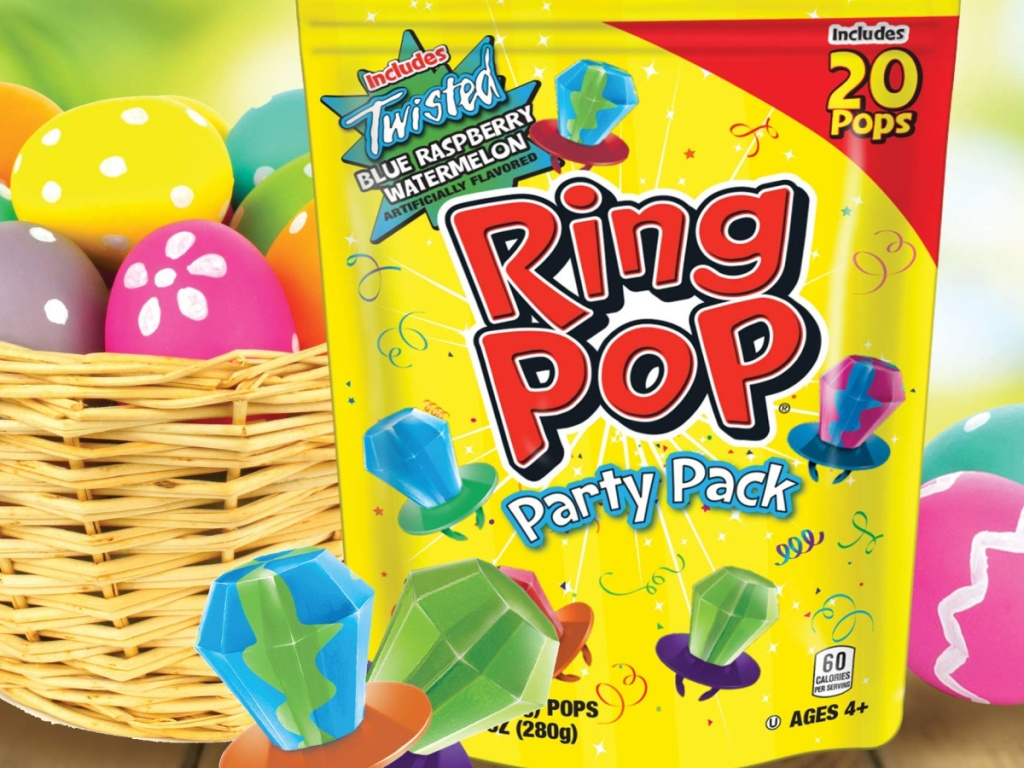 Ring pops variety pack