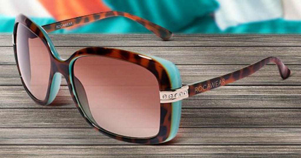 Rocawear Sunglasses on desk