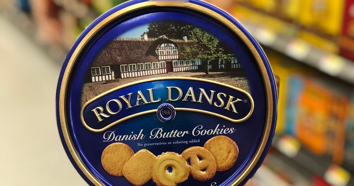 Tin of Danish Butter Cookies