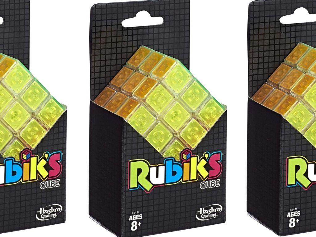 Rubik's Cube Neon