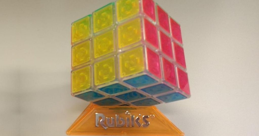 rubik's neon cube