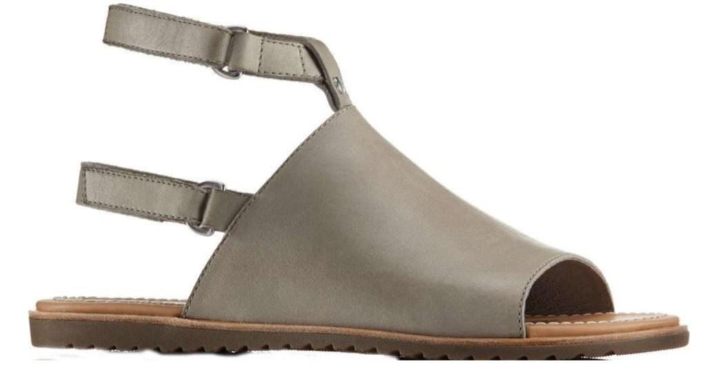 SOREL Women's Ella Mule Strap Sandals in kettle