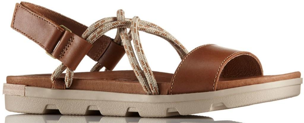 SOREL Women's Torpeda II Sandals in camel