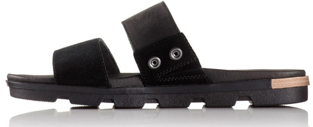 black pair of SOREL Women's Torpeda II Slide Sandals