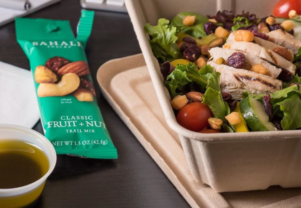sahale fruit + nut bar by salad