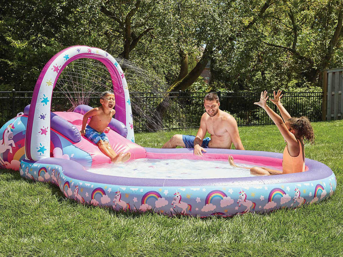Giant Unicorn Floating Island Available At Sam S Club Holds 6 Adults Built In Cooler