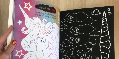 Scratch and Sparkle Unicorns Activity Book Only $3.23 on Amazon (Regularly $7)
