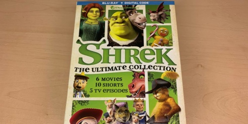 Shrek The Ultimate Collection Blu-ray + Digital Only $17.99 on Amazon | Includes 6 Movies