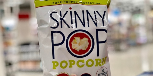 SkinnyPop Popcorn 40-Count Variety Pack Only $11.57 Shipped on Amazon (Just 29¢ Per Bag)