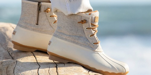 Up to 50% Off Sperry Women's Duck Boots + Free Shipping