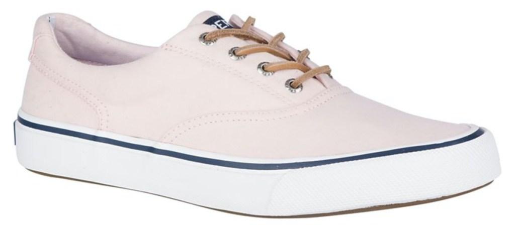 casual pink men's shoe