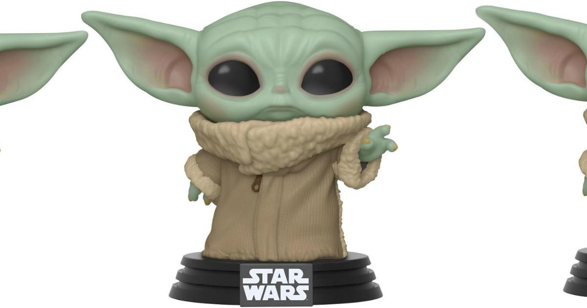 FUNKO brand figure of Baby Yoda