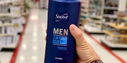 Suave Men Shampoo & Conditioner 28oz Bottle Just $1.99 Shipped on Amazon
