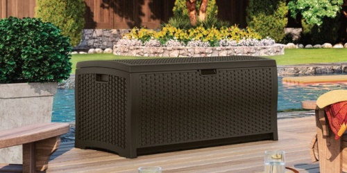 Suncast 124-Gallon Deck Box Only $99 Shipped on Lowe's (Regularly $149)