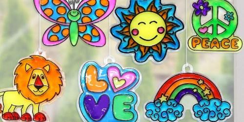 Create Your Own Suncatchers Art Kit Just $10.97 on Amazon | Fun Indoor Activity