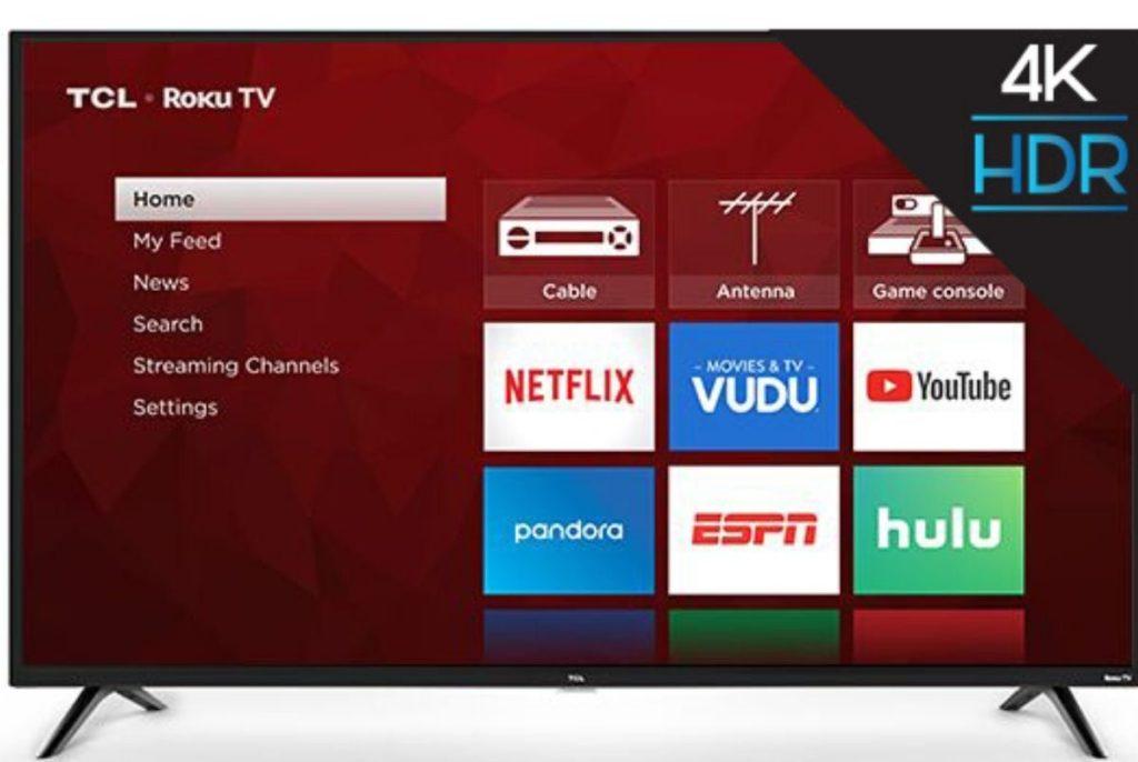 TLC Roku Big Screen TV