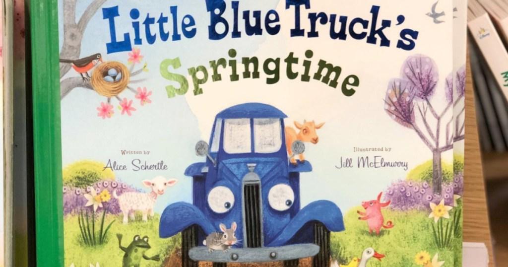 Little Blue Truck Springtime Book