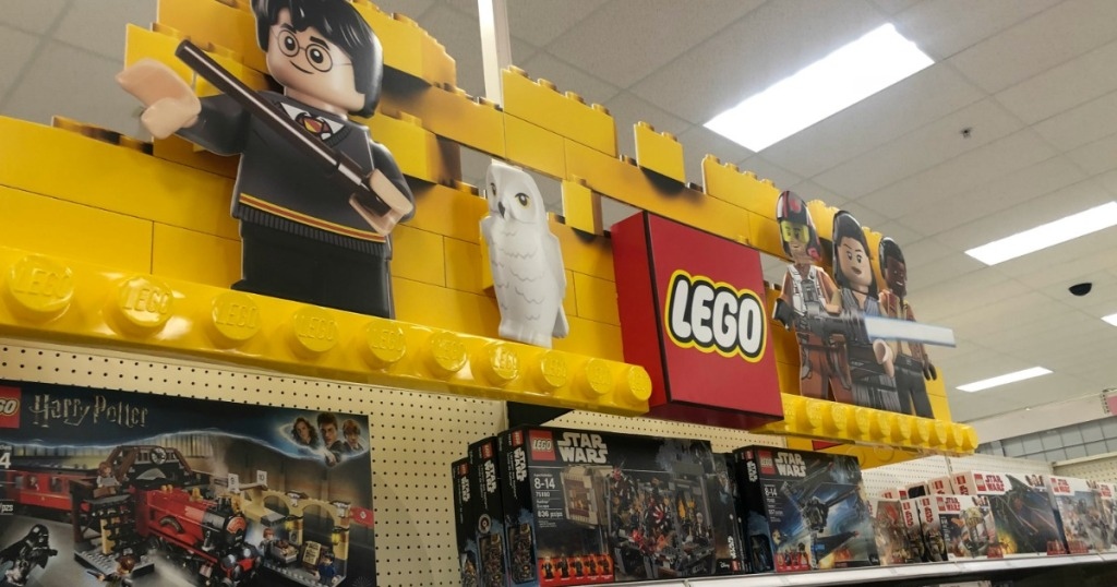 LEGO Sign and displays at Target
