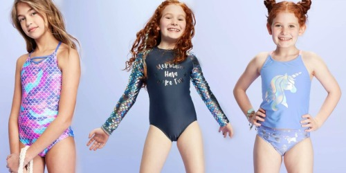 Girls Swimsuits as Low as $10.49 on Target.com