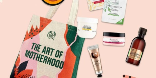 The Body Shop Mother's Day Tote Gift Set Only $59 Shipped ($109 Value)