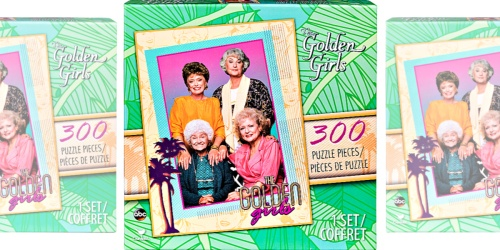 The Golden Girls 300-Piece Puzzle Only $6.99 Shipped for Kohl's Cardholders (Regularly $20)