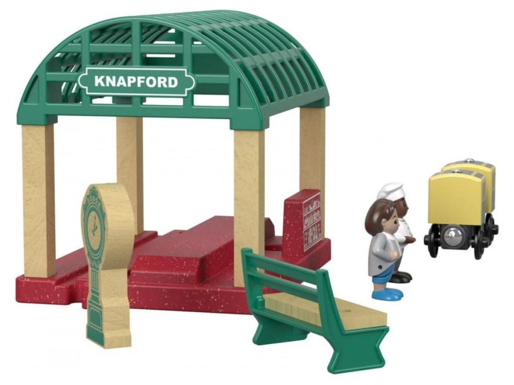 toy train station set