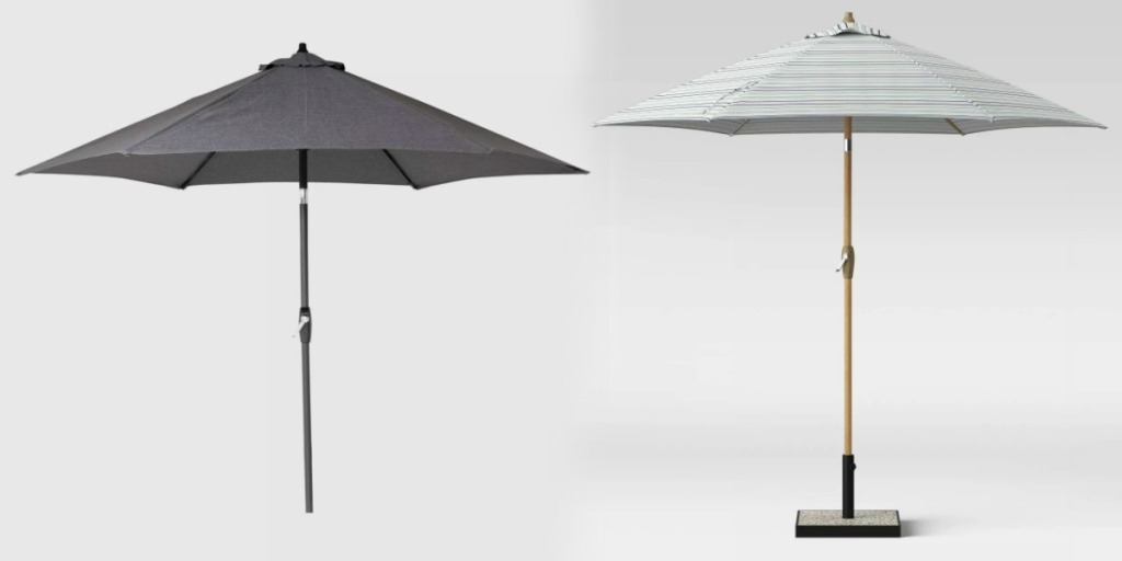 to styles of patio umbrellas