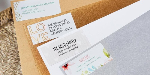 96 Tiny Prints Address Labels Just $4.94 Shipped