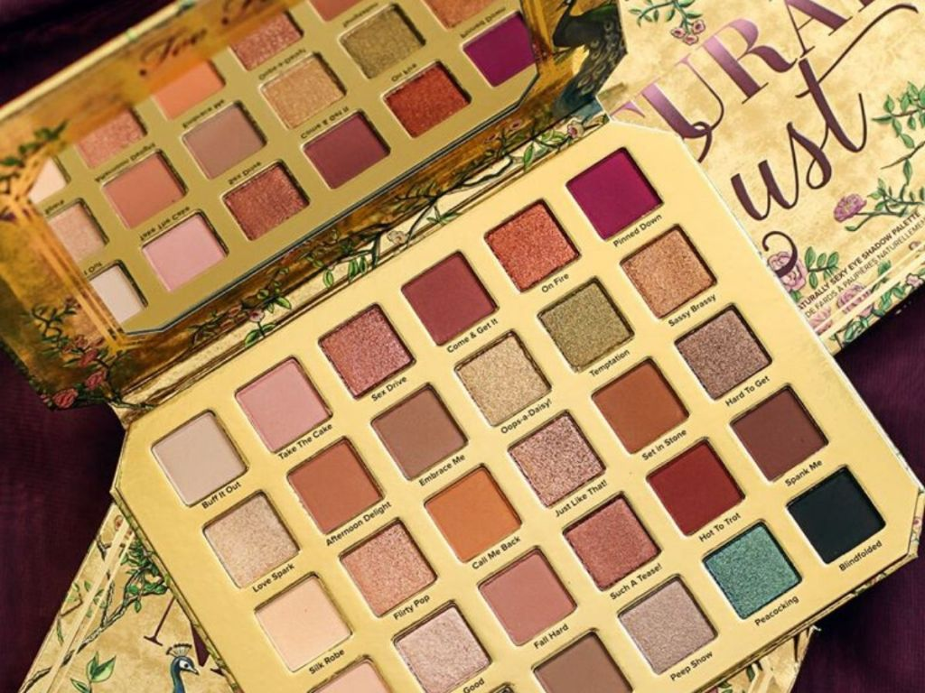 too faced 30 shade eye shadow palette
