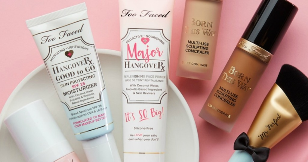Too faced primer and foundation
