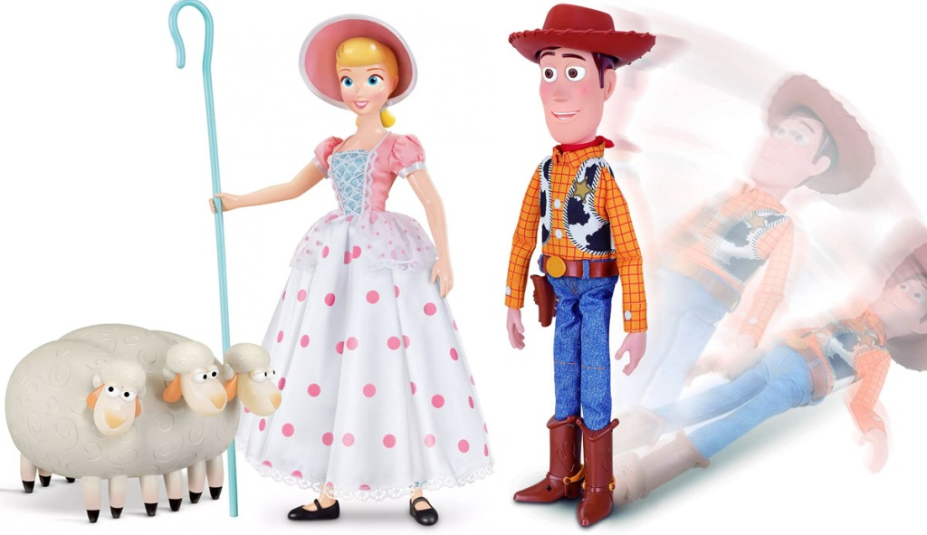 toy story woody and bo peep toys