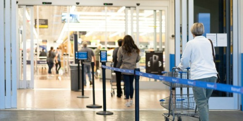 Walmart Limiting Number of Shoppers to Help Reduce Spread of Coronavirus