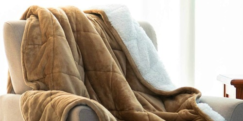Weighted Blankets as Low as $46 Shipped on Amazon | Great for Anxiety & Insomnia