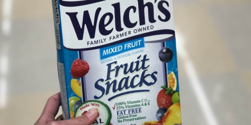Welch's Fruit Snacks Pouches 40-Count Only $6.63 Shipped on Amazon | Just 17¢ Each